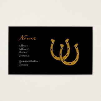 Profile Card - Lucky Horseshoe