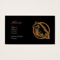 Profile Card - Metallic Horse