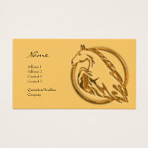 Profile Card - Metallic Horse
