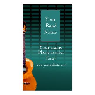 Profile card - Music Band