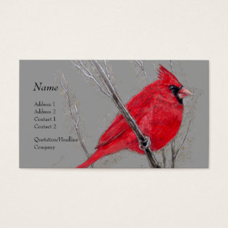 Profile Card - Red Cardinal