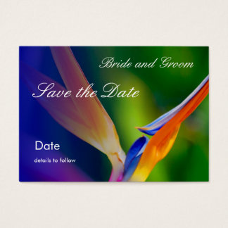 Profile Card_Save the Date Business Card