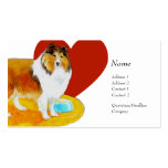 Profile Card - Sheltie Business Card