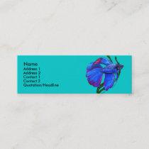 Profile Card Template - Betta Fish