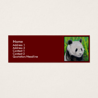 Profile Card Template - Panda