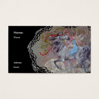 Profile Card - Unicorn Valentine