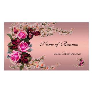 Profile Card Vintage Musk Pink Roses 2