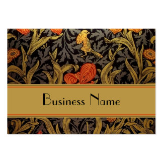 Profile Card Vintage Print William Morris Business Card