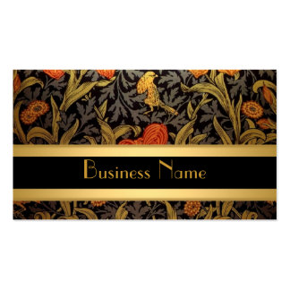 Profile Card Vintage Print William Morris Double-Sided Standard Business Cards (Pack Of 100)