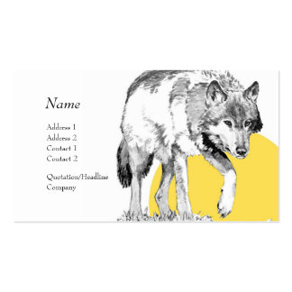 Profile Card - Wolf Business Card