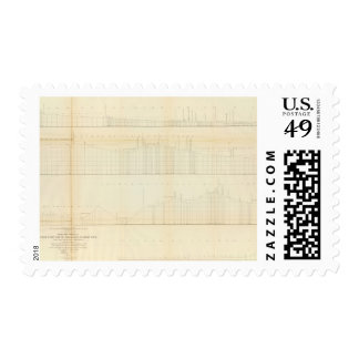 Profile Ft Smith, Ark, Martinez, Calif Stamp