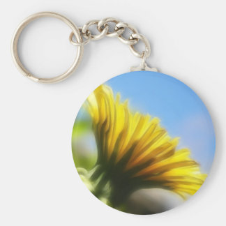 Profile - Golden Dandelion Keychain