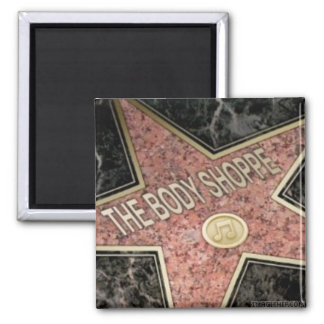 PROFILE-HOLLYWOOD STAR 2 INCH SQUARE MAGNET