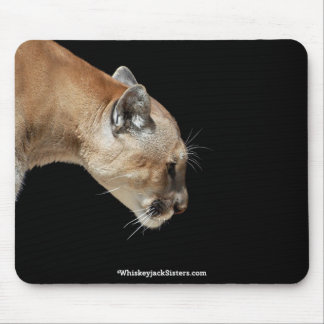 Profile of a Cougar Mouse Pad