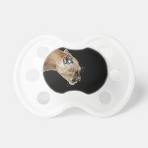 Profile of a Cougar Baby Pacifiers