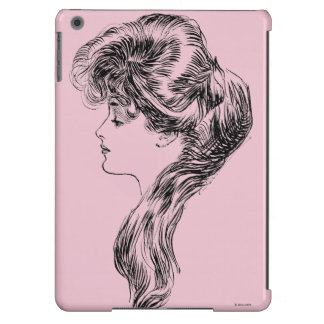 Profile Of A Gibson Girl, 1903 iPad Air Covers