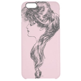 Profile Of A Gibson Girl, 1903 Clear iPhone 6 Plus Case