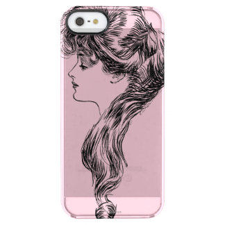 Profile Of A Gibson Girl, 1903 Clear iPhone SE/5/5s Case