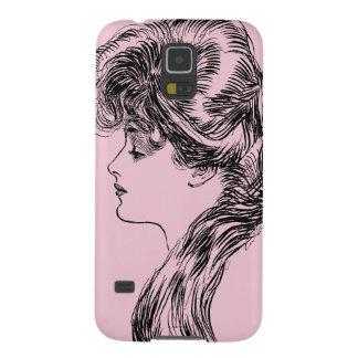 Profile Of A Gibson Girl, 1903 Galaxy S5 Case