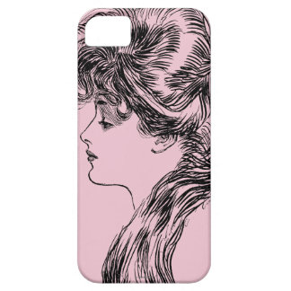 Profile Of A Gibson Girl, 1903 iPhone SE/5/5s Case