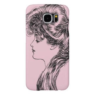 Profile Of A Gibson Girl, 1903 Samsung Galaxy S6 Case