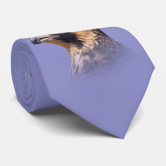 Profile of a Juvenile Peregrine Falcon Neck Tie