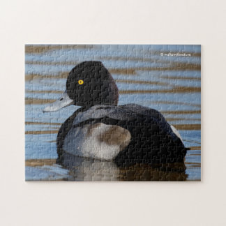 Profile of a Lesser Scaup Jigsaw Puzzle