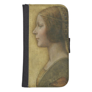 Profile of a Young Fiancee Galaxy S4 Wallet Cases