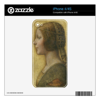 Profile of a Young Fiancee iPhone 4 Skins