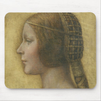 Profile of a Young Fiancee Mouse Pad