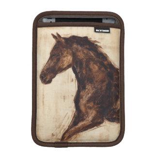 Profile of Brown Wild Horse iPad Mini Sleeves