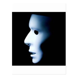 Profile of Ghost Like Face.jpg Postcard