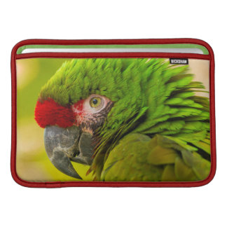 Profile of macaw at Santa Barbara Zoo MacBook Sleeves