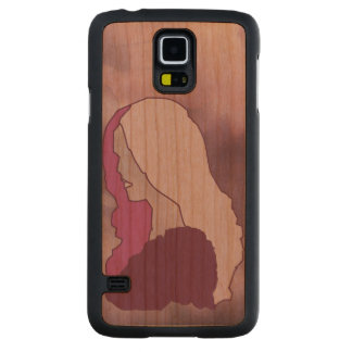 Profile of Pain Carved® Cherry Galaxy S5 Case