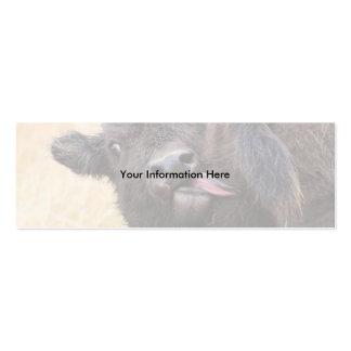 profile or business card, bison hygiene Double-Sided mini business cards (Pack of 20)