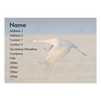 profile or business card, crane large business cards (Pack of 100)