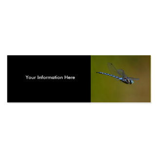 profile or business card, dragonfly Double-Sided mini business cards (Pack of 20)