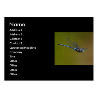 profile or business card, dragonfly large business cards (Pack of 100)