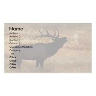 profile or business card, elk bugle Double-Sided standard business cards (Pack of 100)
