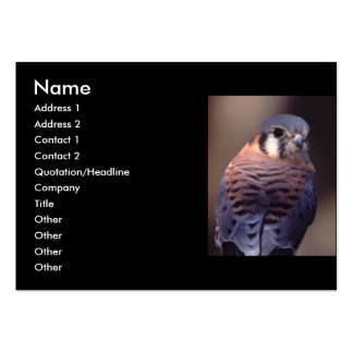 profile or business card, kestrel large business cards (Pack of 100)