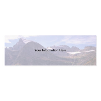 profile or business card, Landscape Double-Sided Mini Business Cards (Pack Of 20)
