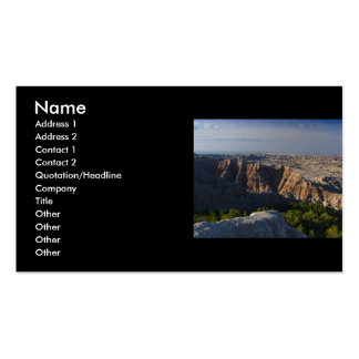 profile or business card, landscape Double-Sided standard business cards (Pack of 100)