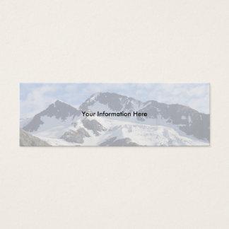 profile or business card, Landscape Mini Business Card