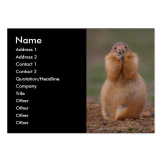 profile or business card, prairie dog large business cards (Pack of 100)