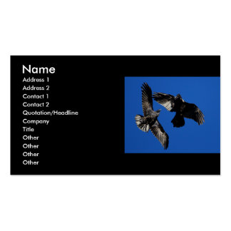 profile or business card, ravens Double-Sided standard business cards (Pack of 100)
