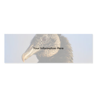 profile or business card, vulture Double-Sided mini business cards (Pack of 20)