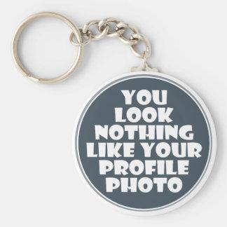 Profile Photo Keychain