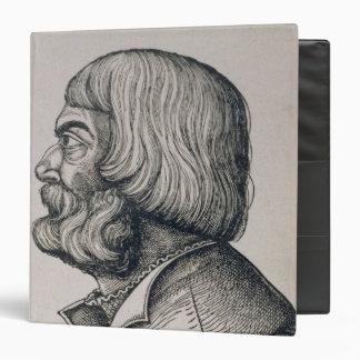 Profile portrait of Albrecht Durer , 1527 Binder