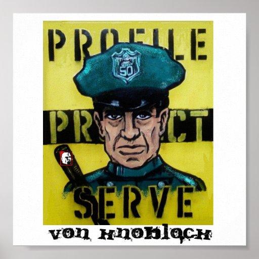 Profile Protect Serve Poster