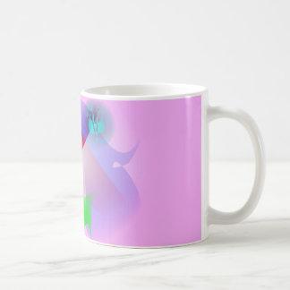 Profile with Long Eyelashes Coffee Mug